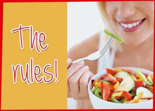 Δεν χρειάζεται να κάνεις δίαιτα για να αδυνατίσεις. Απλά να ακολουθήσεις αυτούς τους 10 κανόνες