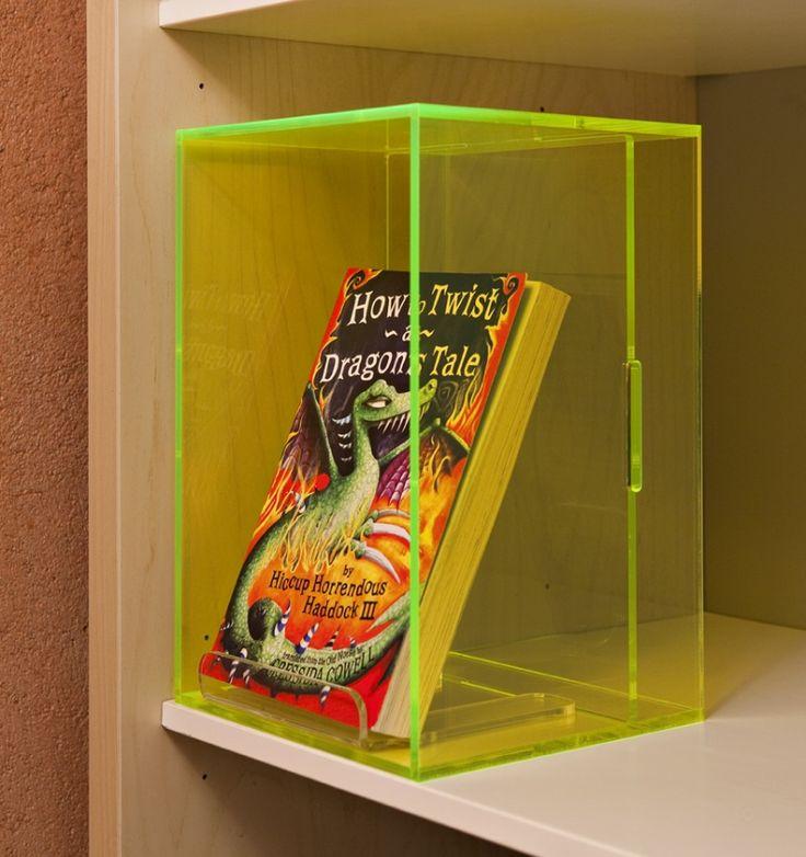Boîte de présentation avec fond surélevé, citron vert