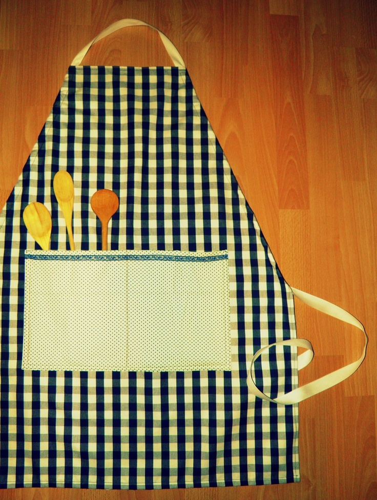 This is a new apron made by me:)  It's called Apron N°3