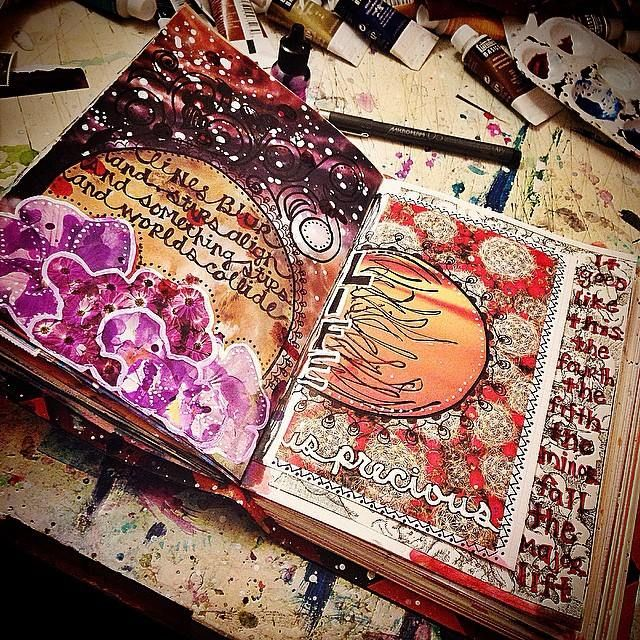 art journal mixed media - Google Search                                                                                                                                                                                 More