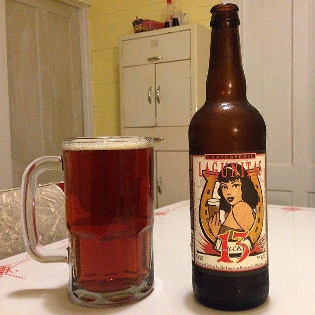 Lagunitas Lucky 13 Mondo Large Red Ale at Beer BAcon Music #beerbaconmusic #lagunitas #redale #beer #craftbeer