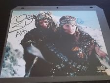 """CLAIRE STANSFIELD """"ALTI"""" of Xena TV SHOW SIGNED 8X10 PHOTO CELEBRITY SLEUTH 2001"""