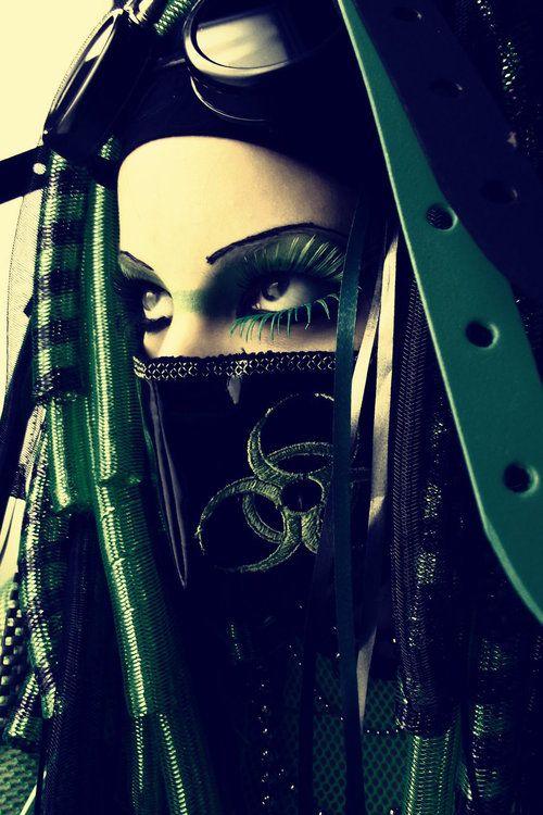 Biohazard warrior...