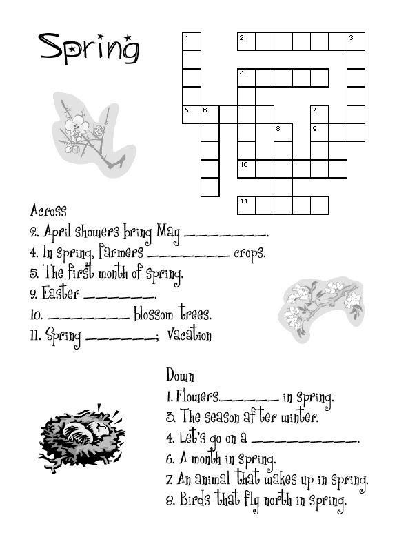 Spring Worksheets Best Coloring Pages For Kids Spring Worksheet Spring Vocabulary Worksheets For Kids Free printable spring worksheets for