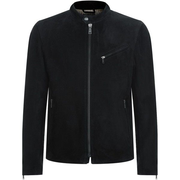 7 For All Mankind Suede Biker Jacket (3.865 BRL) ❤ liked on Polyvore featuring men's fashion, men's clothing, men's outerwear, men's jackets, mens suede moto jacket, mens suede biker jacket, mens suede leather jacket, mens suede motorcycle jacket and mens suede jacket