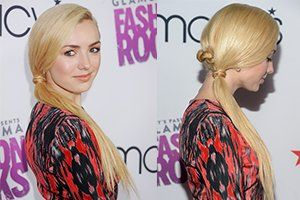 Exclusive! Peyton List's Hair Stylist Tells You How to Steal Her Super Pretty Pony (Perfect School Look, Anyone?)