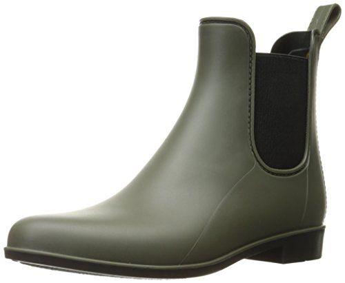 Sam Edelman Women's Tinsley Rain Shoe, Moss Green Matte, ...