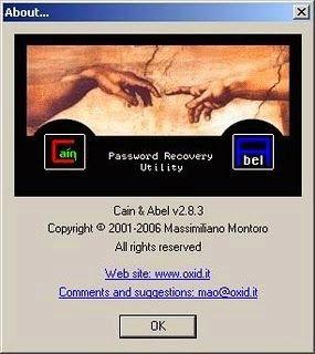 Cain & Abel es una herramienta de recuperación de contraseña para sistemas operativos de Microsoft.