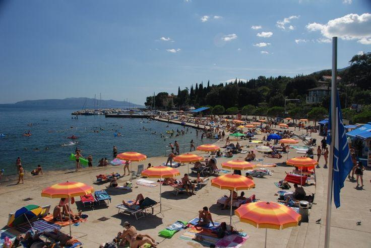 Ičići beach, Croatia
