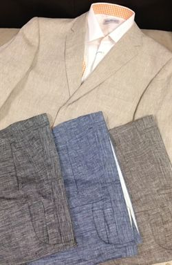 Show details for Natural Linen Sport Coat