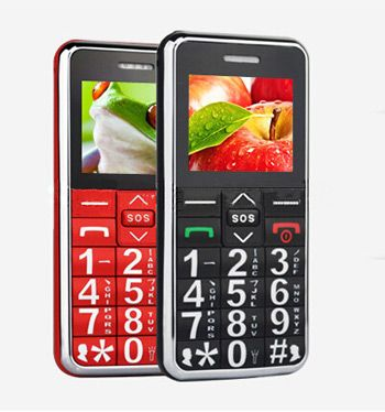 This mobile phone has big buttons an SOS button for when you really need help FM torch and more Features List 1 Big keys big font high volume 2 SOS emergency call 3 Speed dial 4 FlashLight Torch 5 With magnifier function 6 Single sim card 7 FM 8 MP3 function 9 Available in Black or Red please select below Specifications Weight 70g General network 9001800MHz SIM Card Single SIM Screen 18 Single Color TFT 320240 Talking time About 4 hours Standby time About 200 hours Video format 3GP AVI Music…