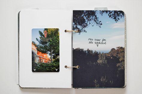 154 besten notebook etc bilder auf pinterest reisetageb cher fotoalben und fotoalbum gestalten. Black Bedroom Furniture Sets. Home Design Ideas