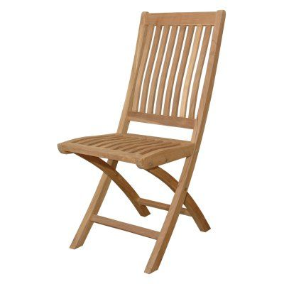 Anderson Teak Tropico Outdoor Folding Chair - Set of 2 - CHF-104
