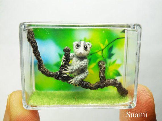 how to make micro crochet animals