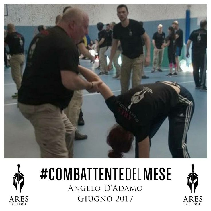Con orgoglio proclamiamo l'ultimo vincitore della stagione: il #CombattenteDelMese di Giugno è Angelo D'Adamo!  Complimenti da tutto il #TeamARES! 🙅🏻♂️👊🏼