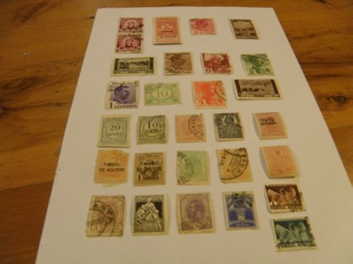 29 1857 to 1939 stamps of Romania. Продано sold