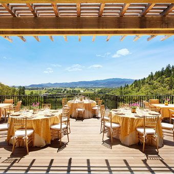 Brides: Wine Country Wedding Venues | Destination Weddings | Brides.com this is excatly what i want exactly