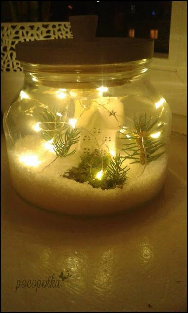 Świąteczny Lampion #DIY #TUTORIAL #HANDMADE #LAMPION