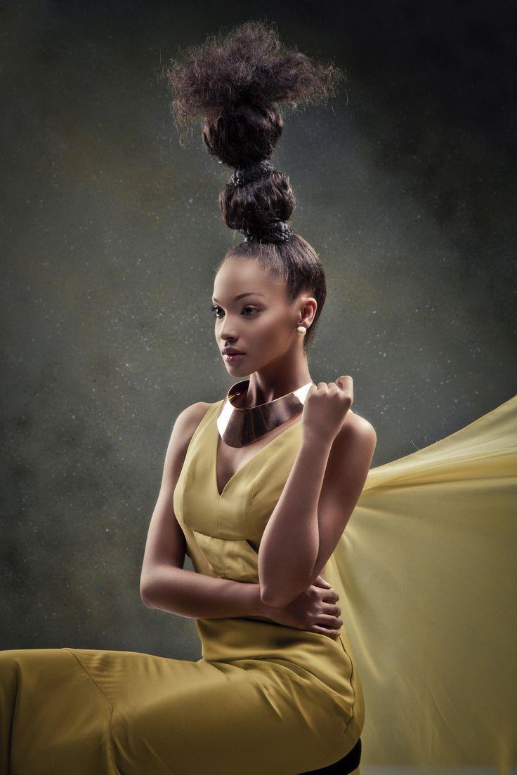 Beauty shoot Concept: Hair trends