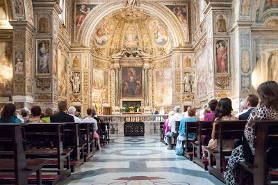 J Hales Fotografia: Rome Wedding at Santa Susanna