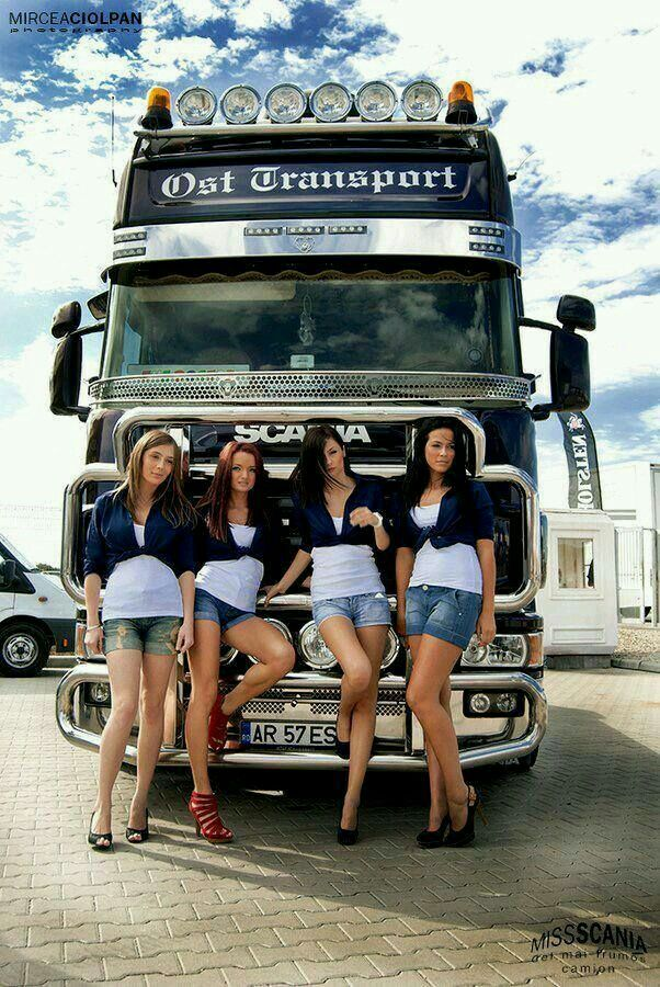 Ost trans w sexy ladies scania trucks girls - Girls and trucks tumblr ...