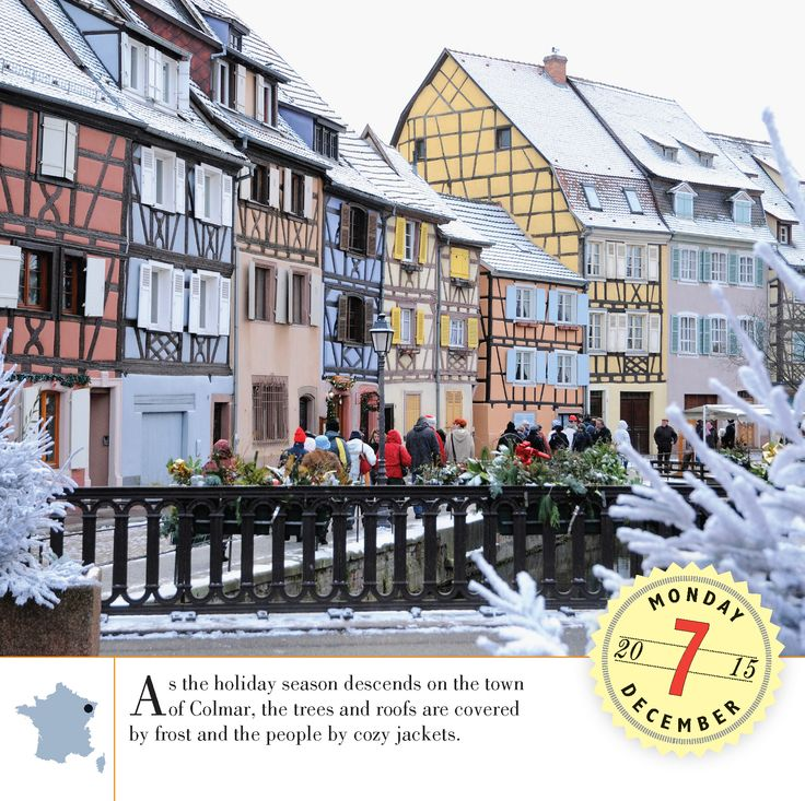 Colmar is one of the driest cities in France, with an annual precipitation of only 24 inches per year. #France #Wanderlust  #BestoftheDay #Instagood #Traveling #Vacation #travel