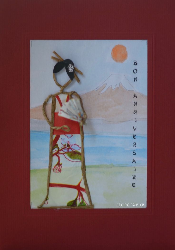 Fée de papier - Japanese girl