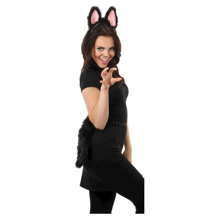 Best 25 cat tail costume ideas on pinterest diy cat costume moveable cat tail costume accessory adult unisex black solutioingenieria Image collections