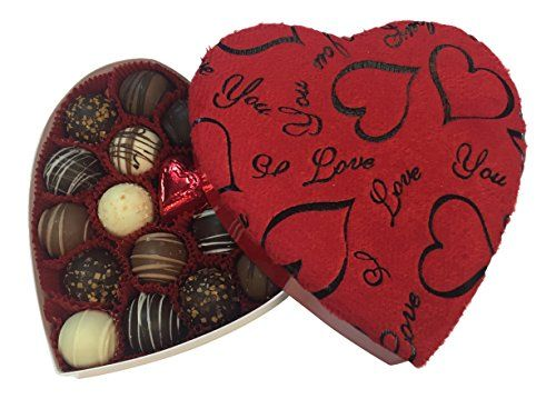 Happy Mothers Day, Gourmet Chocolate Truffle Assortment, Includes Heart-Shaped Velvet Gift Box, 18 Pcs, By Benevelo Gifts - http://bestchocolateshop.com/happy-mothers-day-gourmet-chocolate-truffle-assortment-includes-heart-shaped-velvet-gift-box-18-pcs-by-benevelo-gifts/