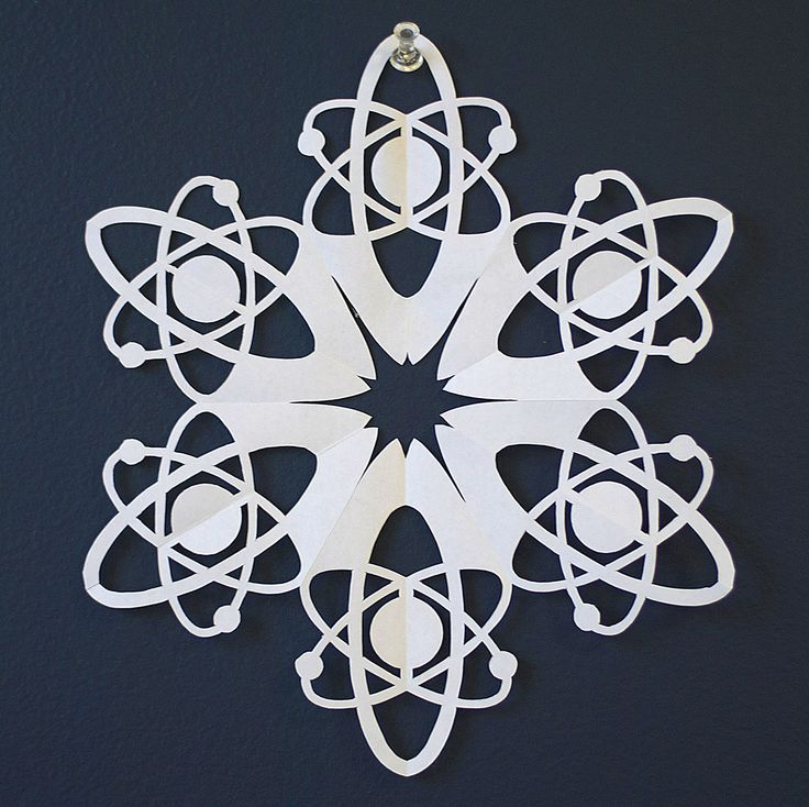 19 best DIY Pop Culture Paper Snowflakes images on Pinterest - snowflake template