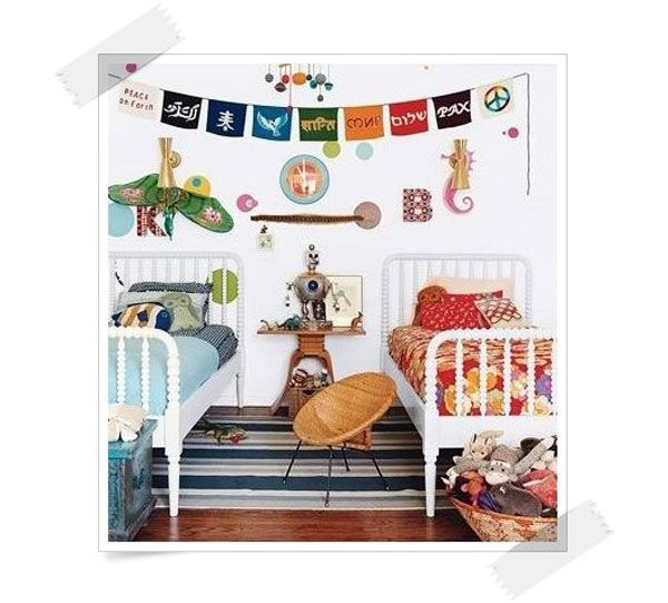 150 mejores im genes sobre habitaciones compartidas en - Habitaciones ninos decoracion ...