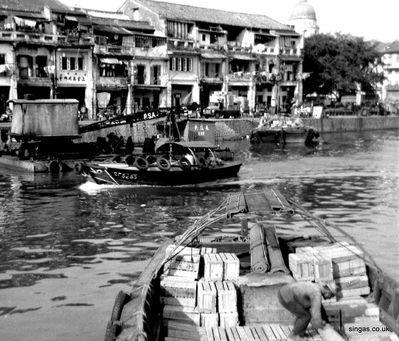 Singapore River c1960s