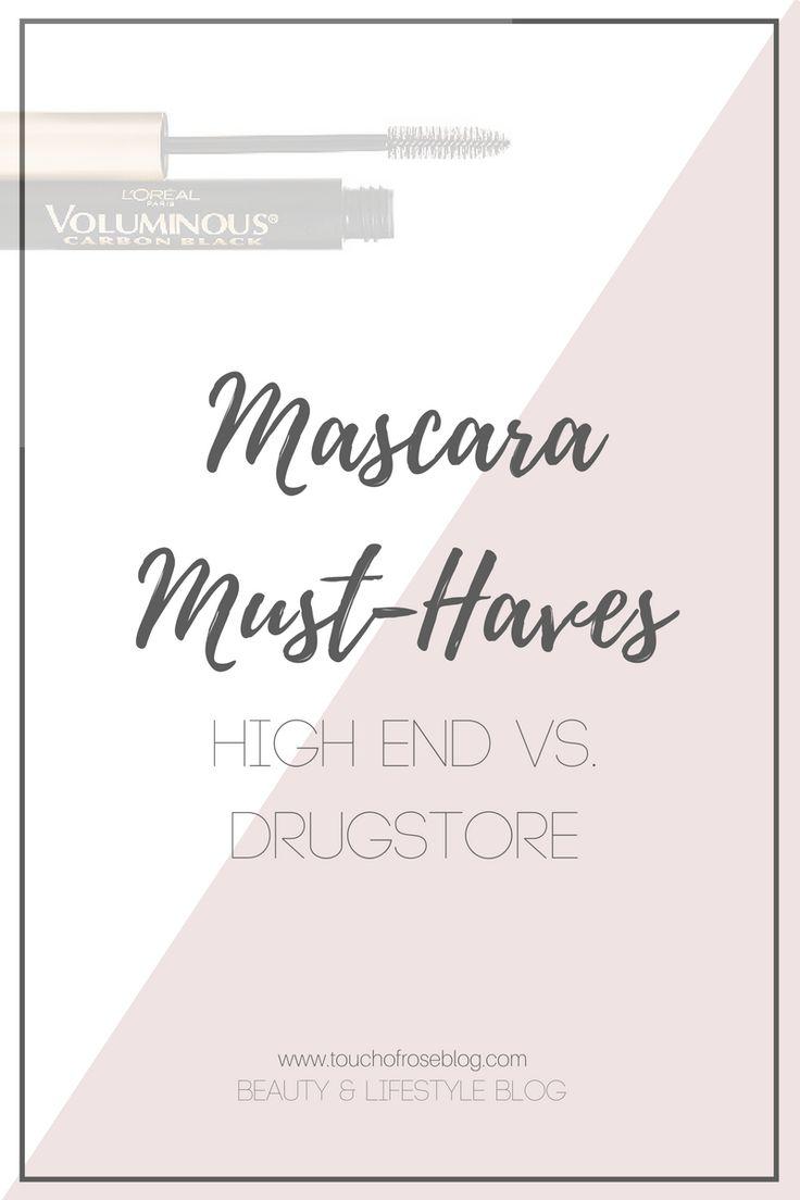 Mascara Must Haves | High End Mascara vs. Drug Store Mascara