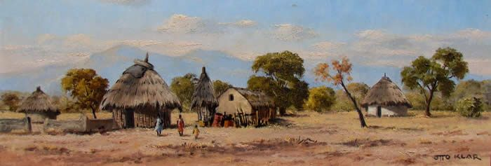 Otto Klar (1908-1994) - Huts