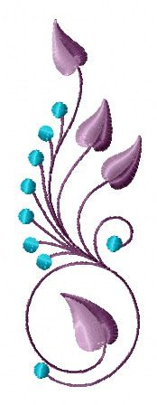 4-Hobby.com - Machine Embroidery Designs :: By Technique :: Embroidery :: Elegant Flowers Ornaments 11 Machine Embroidery Designs Set 5x7