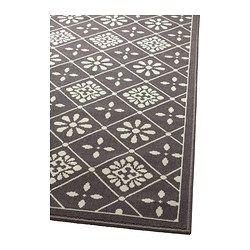 IKEA - SNEKKERSTEN, Tapis, poils ras, Ce tapis en fibres synthétiques est résistant, anti-tache et facile d'entretien.