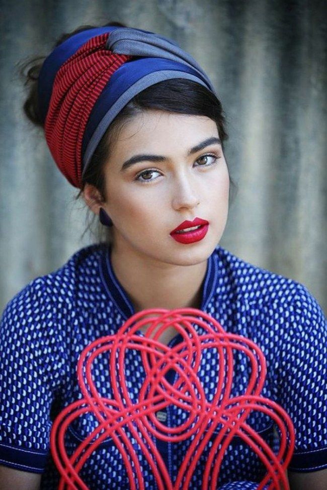 Head scarves have been a fashion savior for many a bad hair day