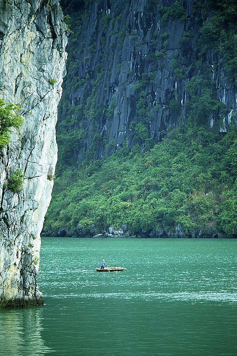 UNESCO World Heritage Site, Halong Bay, Vietnam.
