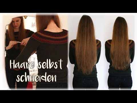 haselnussblond - eat♥braid♥love: Hairlength in April: 90cm - How to cut your own hair