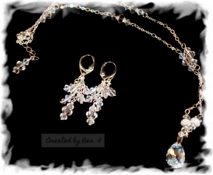 Wedding Moonlight set with earrings.