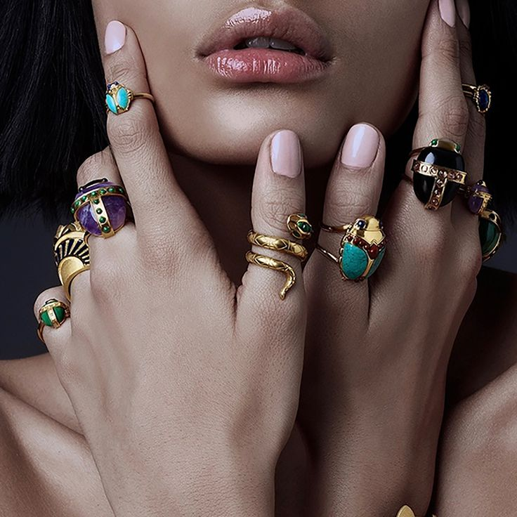 Come and check out our fabulous cocktail rings at  www.amandamarcucci.com