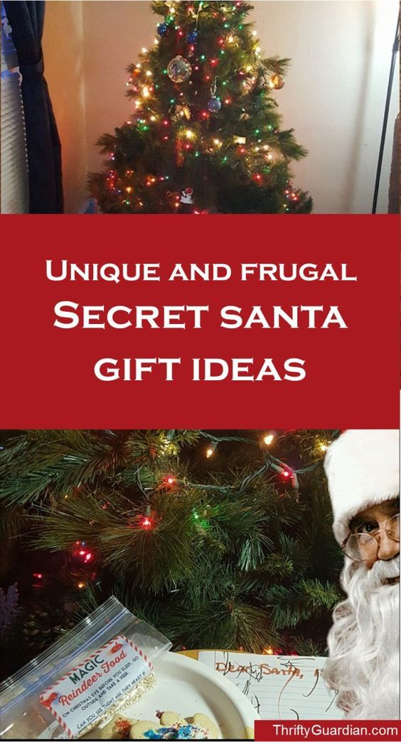 Cheap but creative secret santa gift ideas ideas for Creative affordable christmas gifts