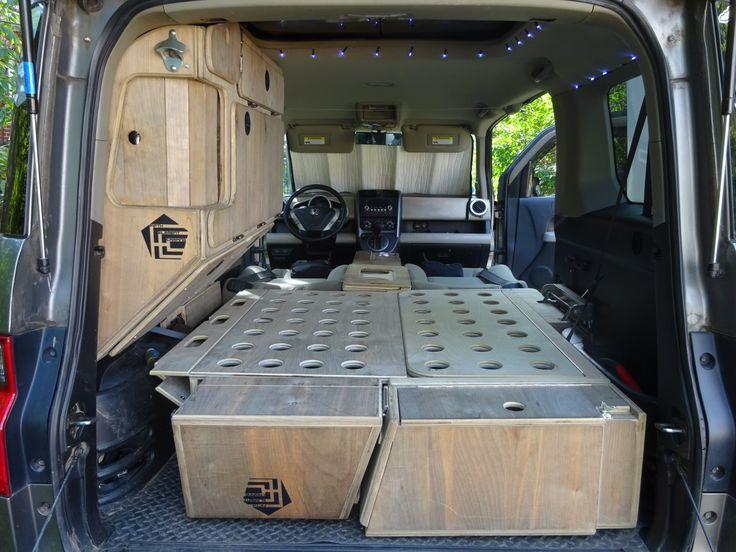 25  best ideas about honda element camping on pinterest