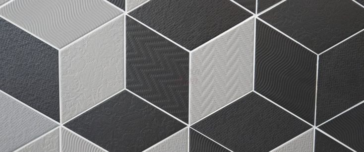 Equipe - Rhombus Light Grey 14x24 Planeta dom