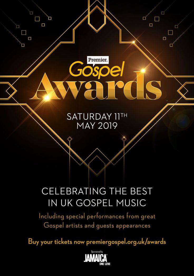 Premier Gospel Awards Church poster design, Church