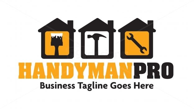 Handyman Pro — Ready-made Logo Designs | 99designs