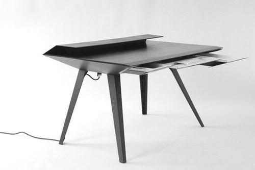 Bureau volant Desk 117 par David Hsu - Blog Esprit Design #desk #bureau