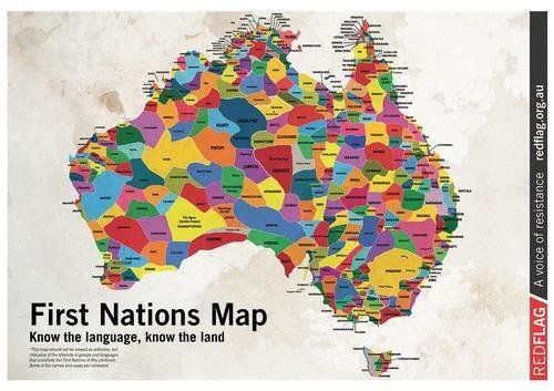 "Kon Karapanagiotidis on Twitter: ""Isn't this glorious. First Nations Map. #Australia #Aboriginal #Indigenous #auspol #firstpeoples…"