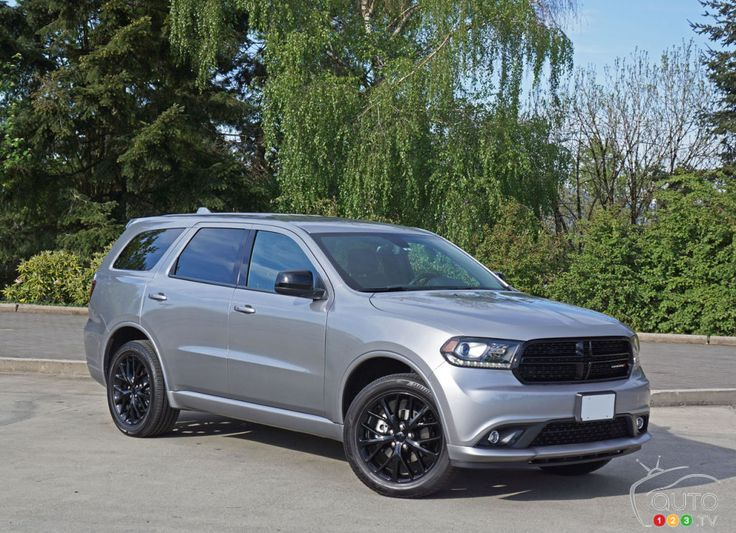 2016 #Dodge #Durango SXT AWD Blacktop Road Test | Car Reviews | Auto123