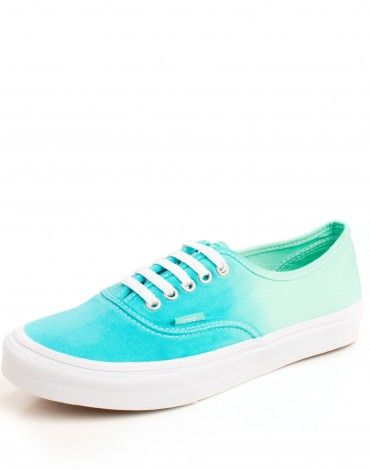Zapatilla Vans degradado en verde